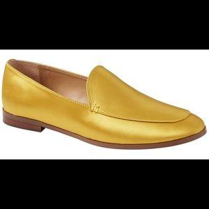 Banana Republic Women's Gold Demi Satin Loafer
